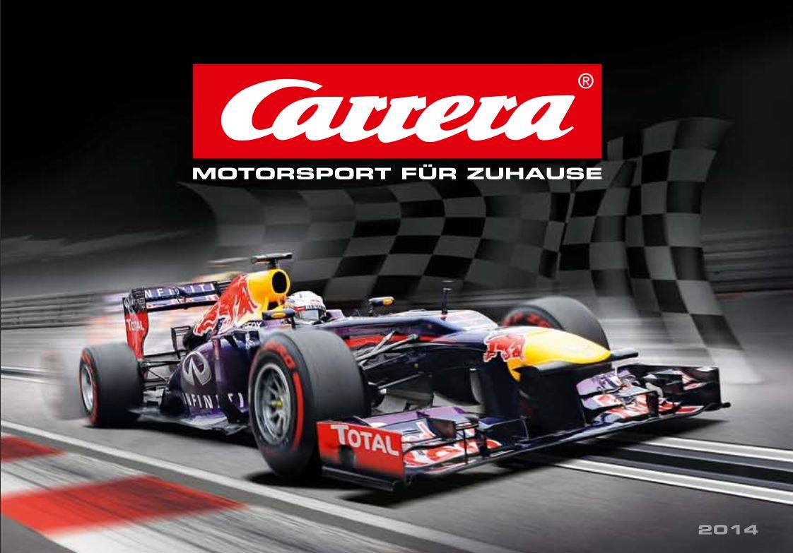 Titelbild Carrera Katalog