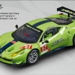 "Ferrari 458 GT2 ""Krohn Racing"" in froschgrün"