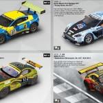 Verschiedene Farbvarianten des Astion martin und BMW Z4
