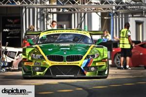 Der BMW Z4 GT3 von Schubert Motorsport - 24h Dubai 2013